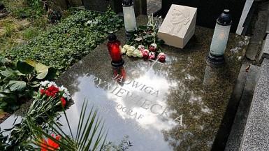 Odsłonięcie pomnika p.Jadwigi Hryniewieckiej